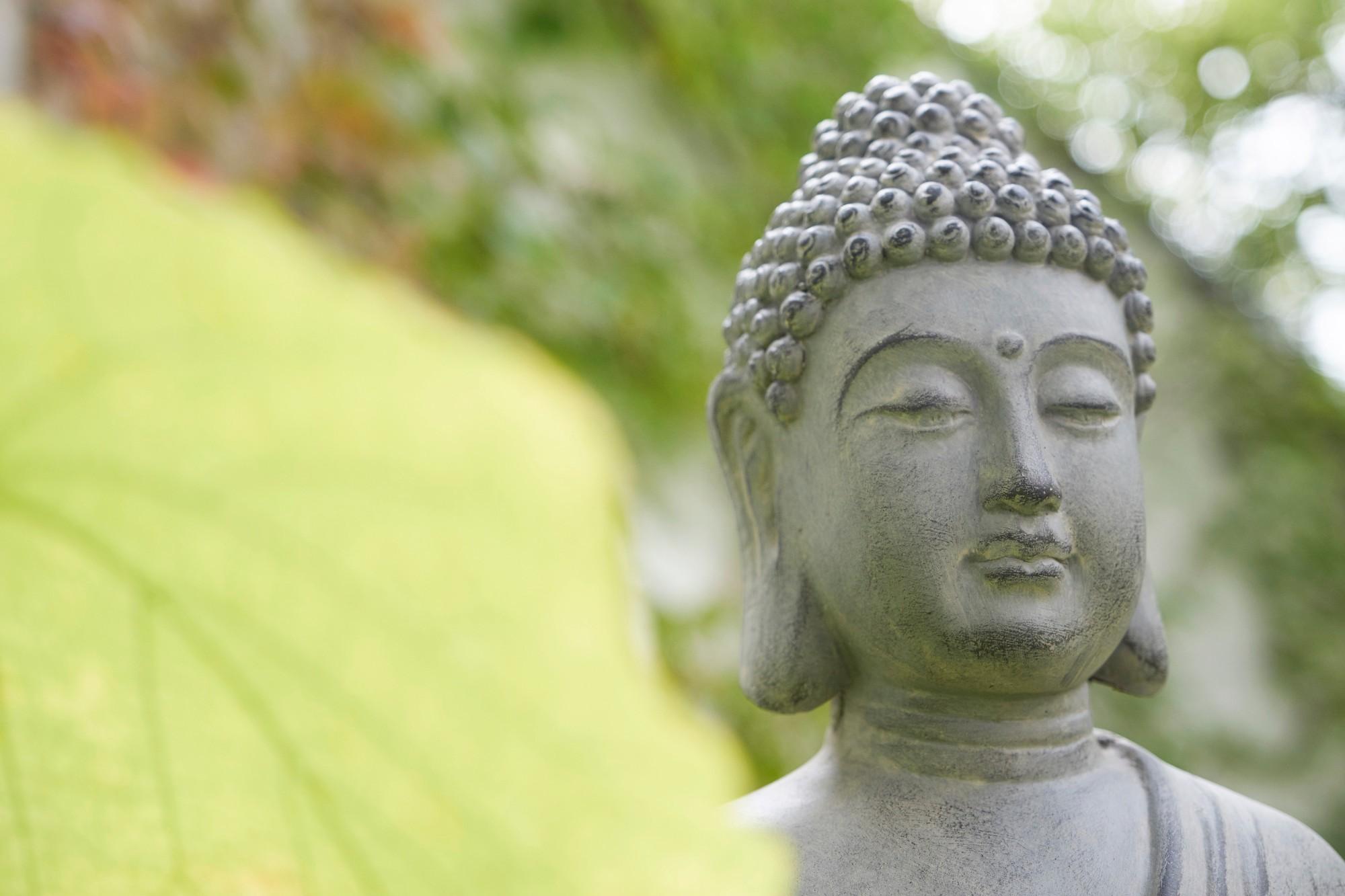 Buddha draußen