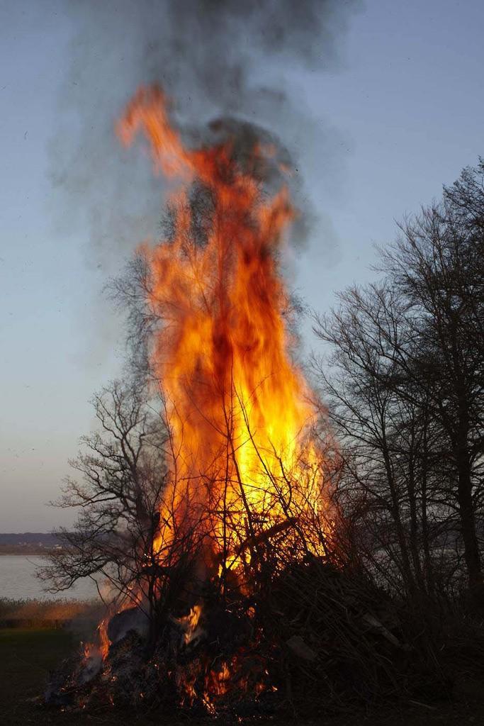 Burn-out: Das Feuer verzehrt die letzten Energievorräte